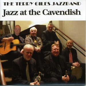 Jazz at the Cavendish: Mick Hamer is on the right in the back row